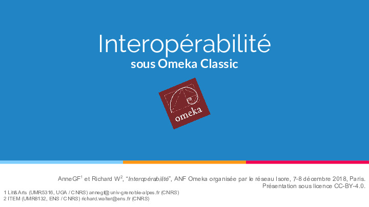 ANF2018_OmekaNiveau2_Interopérabilité.pdf