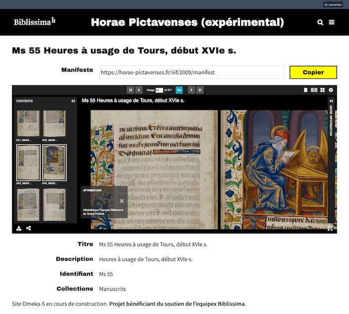Screenshot_2019-07-07 Ms 55 Heures à usage de Tours, début XVIe s · Projet Biblissima Horae Pictavenses.png