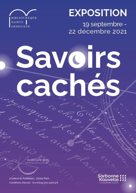 affiche_exposition_savoirs-caches_BSG_2021.jpg